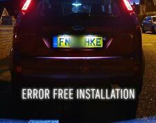 FORD FIESTA MK6 MK6 ST 2002-08 XENON WHITE LED NUMBER PLATE LIGHT BULBS FESTOON