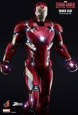 MARVEL IRON MAN MARK 46 PPS003 Hot Toys Sideshow capitan america guerra civile Power
