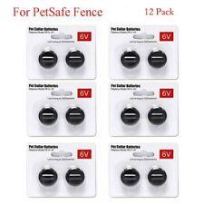 12Pcs 6V Pet Collar Batteries For PetSafe Rfa-67 6Volt Battery Fence Bark Collar