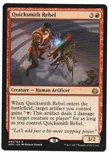 MTG Aether Revolt Rare Quicksmith Rebel, M-NM, has never been played.