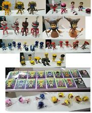 Lot of 35 The Loyal Subjects Power Ranger Figures Red, Yellow, Blue, Pink, Zedd
