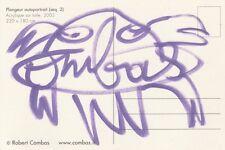 Robert COMBAS - Dessin original signé
