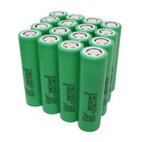 16x 18650 Li-ion Batteries High Drain INR Rechargeable Battery 25R 3.7V