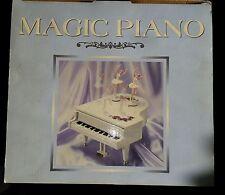 NEW Rare Enesco Style Magic Double Ballerina Multi-Action Grand Piano Music Box