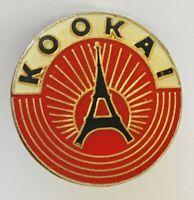 Kookai Brand Paris France Eiffel Tower Advertising Pin Badge Vintage (C20)