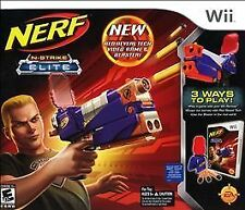 NERF N-STRIKE ELITE Nintendo Wii Game Disc