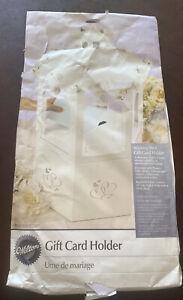 Vintage Wilton Wedding/Bridal Shower Wishing Well Gift Card Holder Box~ New NIP
