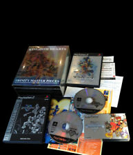 KINGDOM HEARTS TRINITY MASTER PIECES Sony PlayStation 2 PS2 GBA JAP Complete