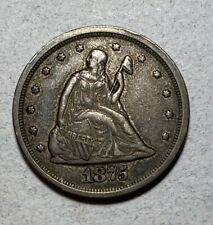 1875-S Seated Liberty 20C Twenty Cent