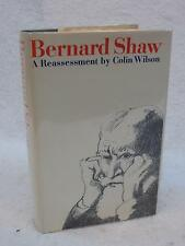 SIGNED Colin Wilson BERNARD SHAW A Reassessment 1969 1stEd Atheneum, NY