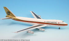 InFlight200 Continental Airlines Boeing 747-100 Black Meatbal Livery 1:200 Scale