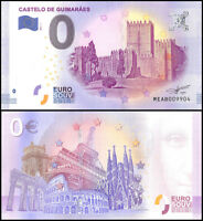 Zero - 0 Euro Europe, 2017 - 1 - 1st Print,UNC, Castelo De Guimaraes in Portugal