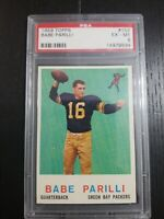 1959 Topps Football #107 Babe Parilli  psa 6