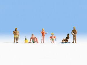 HO Scale people - 15850 - Bathers