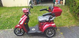 Rolektro E-Trike 25 V 3 Lithium, Rot, 60-30 AH Akku, 1000 Watt Neuwertig