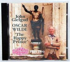 The Happy Prince Oscar Wilde John Gielgud CD Part Two Nimbus Records Disc