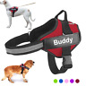 Personalized Dog Harness NO PULL Reflective Breathable Puppy Vest Padded Handle