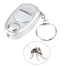 HOT Ultrasonic Mosquito Repeller Pest Bug Repellent Insect Keychain Control Anti