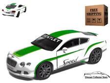 2012 Bentley Continental GT Speed KINSMART Diecast 1:38 White