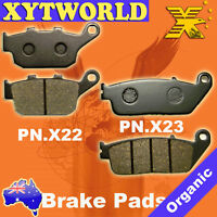 FRONT REAR Brake Pads HONDA VTR 250 1998-2000 2001 2002 2003 2004 2005 2006 2007