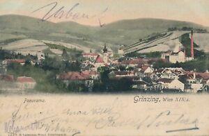 GRINZING – Grinzing Panorama – Vienna – Austria – udb – 1904