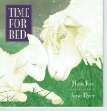 TIME FOR BED by Mem Fox Children's Reading Picture Story Book Jane Dyer 2017 sm