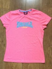 lonsdale t shirt size 12 womens ladies new with tags top london