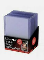 25 Ultra Pro 55pt 3x4 Toploaders. New Sealed Top Loader. 1 Pack. Free Shipping