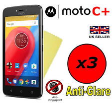 3x Hq Matte Anti Glare Screen Protector Cover Guard For Motorola Moto C Plus +