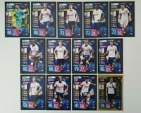 2019/20 Match Attax UEFA Soccer Cards - Tottenham Team Set + Hattrick Hero Kane