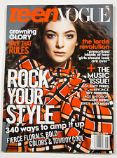 TEEN VOGUE MAGAZINE LORDE KATY PERRY BEYONCE  MAY 2014