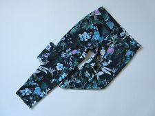 NWT Banana Republic Avery in Floral Pineapple Tropical Crop Trouser Pants 6 $98
