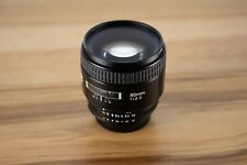 Nikon NIKKOR f/1.8D Auto Focus Fixed Lens for SLR Cameras + Filters + Case