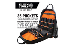 17.5 in. Tool Gear Backpack Klein Tradesman Pro Jobsite Contractor Back Pack Bag