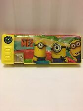 Despicable ME2 Minions Yellow Cartoon Stationery Multifunction Pencil Case/Box