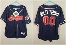 "Sz 52 Ricky ""Wild Thing"" Vaughn jersey Cleveland Indians NWT Major League Promo"