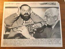 *RARE* 1964 Historic Photo #MJP14061 Musician Al Hirt Trumpet Player w/ Fiedler
