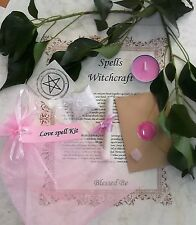 Love Spell Kit  Votive Candle  Magic Wicca Created by a Witch