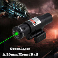 Tactical Airsoft Red/Green Dot LASER SIGHT Scope Airsoft Weaver Picatinny Mount
