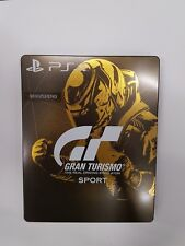 Gran Turismo Sport collectors edition empty steelbook metal game case NO GAME