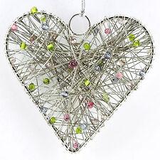 Christmas Tree Heart Ornament, Primitive Decor, Holiday Decorations  #M30V