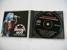 DIAMOND HEAD - BEHOLD THE BEGINNING - CD EXCELLENT CONDITION 1994