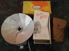 VINTAGE BABY BLITZ FLASH GUN IN BOX MADE IN JAPAN