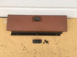 80-86 Ford Truck Bronco Brown Glove Box Door glovebox 1980 1986 F150 F250 F350