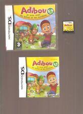 Rare !!! ADIBOU Je Joue avec les Lettres et les Nombres. Culte sur DS/3DS/2DS