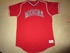 Medina High School Baseball Team Game Worn Used Jersey Xl mens