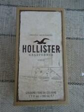 NIB HOLLISTER California 1922 COLOGNE 1.7 oz./50mL NEW IN BOX