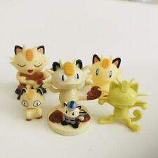 6 Pcs Meowth Figure Bundle Nintendo Pokemon Figures Lot Joblot Bandai Tomy CGTSJ