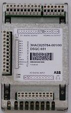 ABB irc5 Controller Analog I/O Unit DSQC 651 - 3hac025784-001