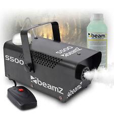 500W Fog Machine Haze Effect Smoke Disco Green + Fluid  Halloween Party UK STOCK